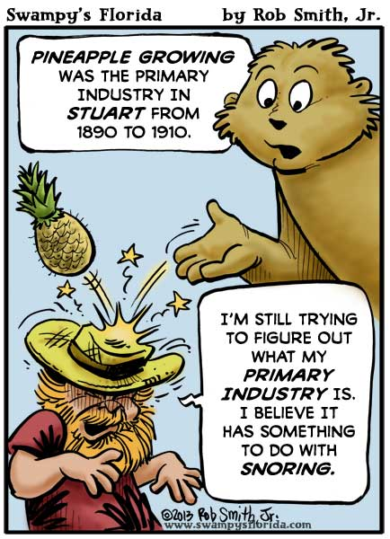 Swampy's Florida Webcomic: Primary Pineapples
