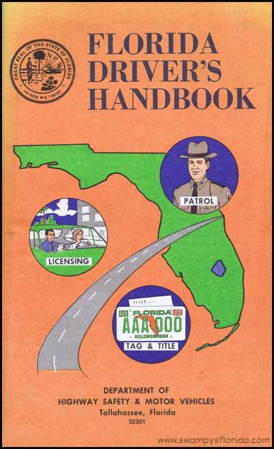 Florida Drivers Handbook >> Swampy S Florida History Florida Driver S Handbook 1979