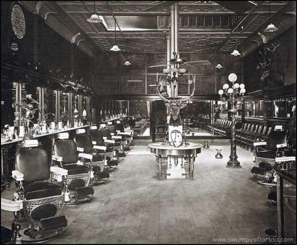 ... Historic Photos: Elk Barber Shop, Tampa, 1930s.  Swampys Florida