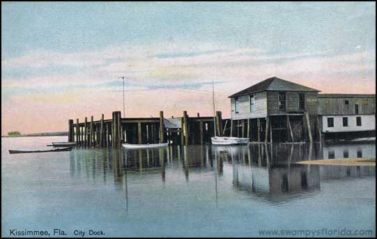 Here\'s the old City Dock onkissimmee city