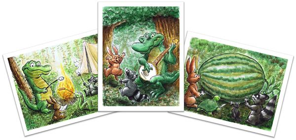 Swampy Prints