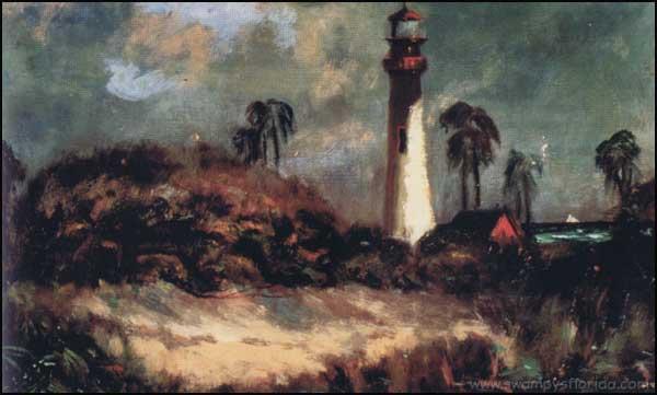 2014-0416-CapeFloridaLighthousepainting-1911