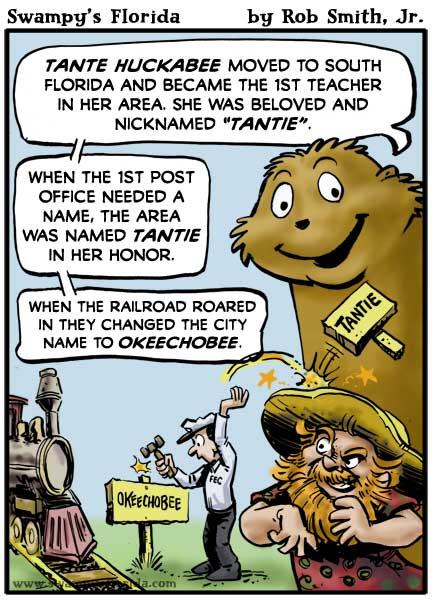 Swampy's Florida Webcomic: Tantie!