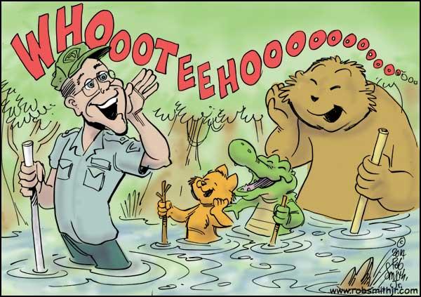 Swampy's Florida celebrates World Ranger Day!